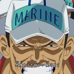 Akainu'nun One Piece'in 13. açılışı olan