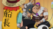 Luffy Meets Zephyr
