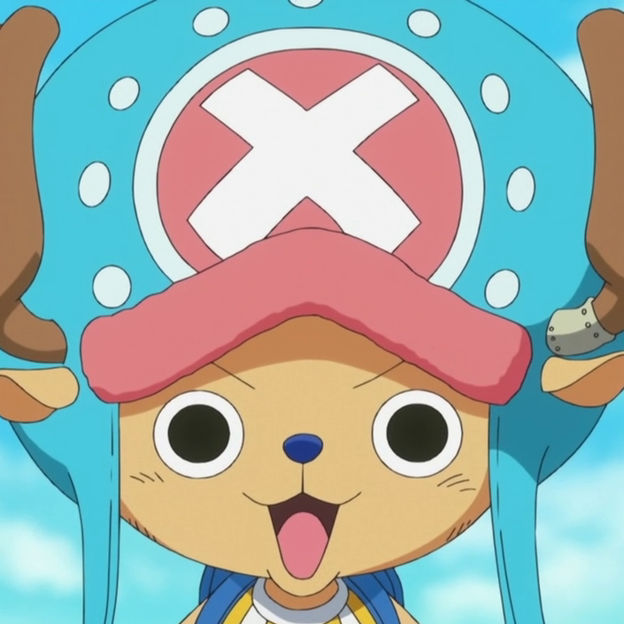 Tony Tony Chopper Post Ellipse Portrait
