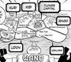 Wano Country Map