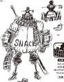 Charlotte Snack Manga Concept Art