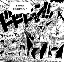 Escouade des Géants Manga Infobox