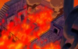 Inferno rovente