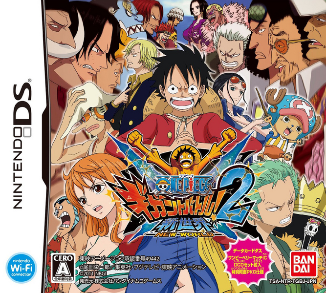 one piece gigant battle 2 new world nds