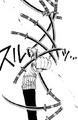 Zoro teste la malédiction du Sandai Kitetsu