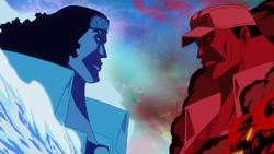 Aokiji vs akainu