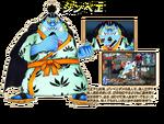 Jinbe en Super Grand Battle! X