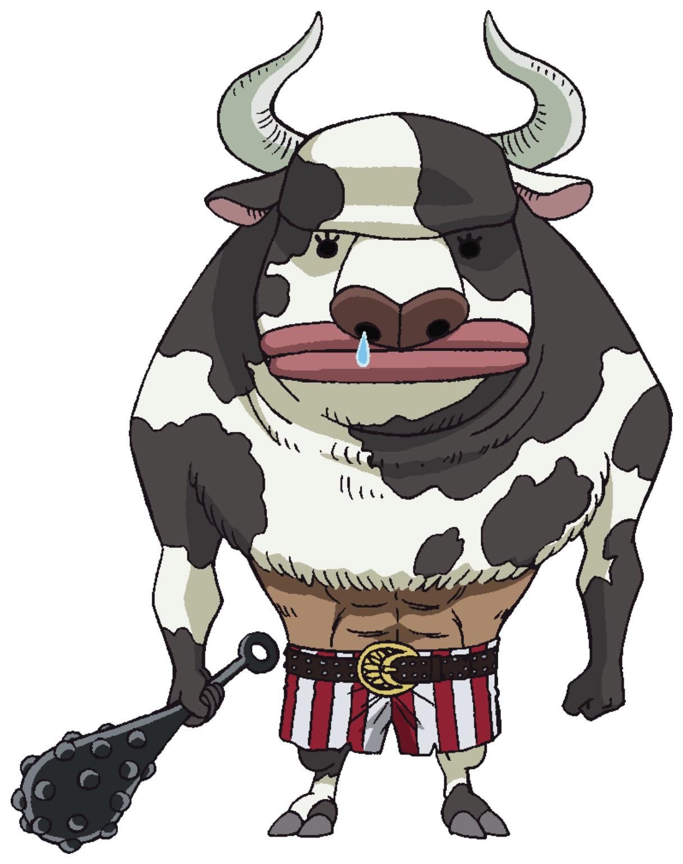 Minotaurus Anime Concept Art