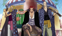 Red Hair Pirates' Main Members' Current Appearances