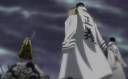 Shiki and Sengoku and Garp