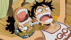 Usopp and Luffy Reunited