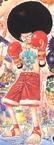 Afro Luffy Manga Color Scheme