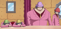 Four of the Charlotte Decuplets Males at the Big Mom Pirates Meeting