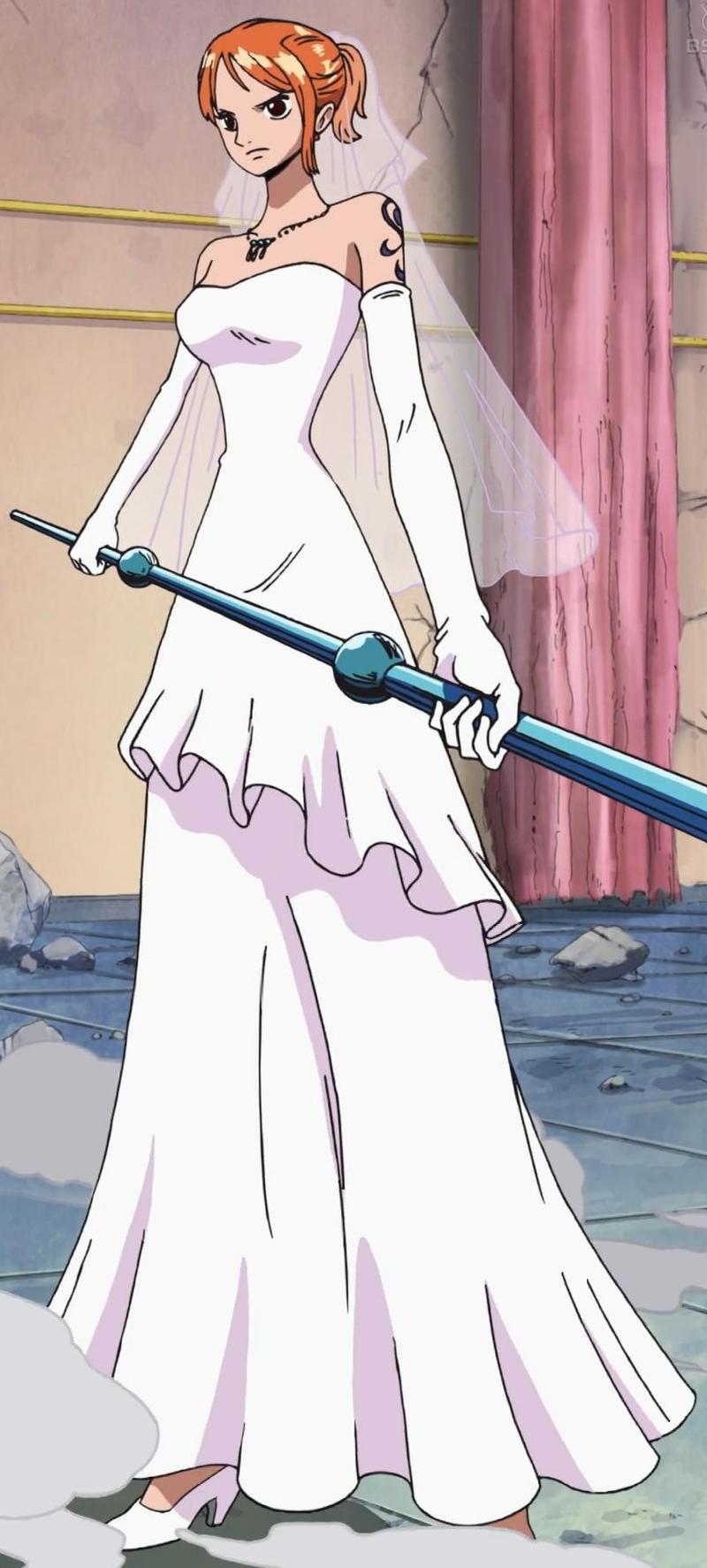 Image - Nami Wedding Gown.png | One Piece Wiki | FANDOM powered by Wikia