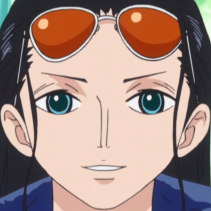 Nico Robin Post Ellipse Portrait
