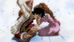 Pudding Informs Luffy Of Her True Intentions
