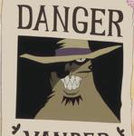 Vander Decken IX's Wanted Poster