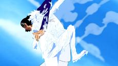Kuzan derrota a Luffy