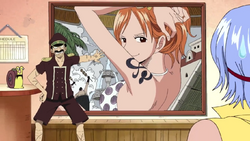 Nami poster gigante Genzo