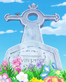 Vinsmoke Sora Grave in the Anime