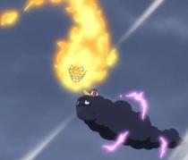 Zeus y Prometheus crean una tormenta
