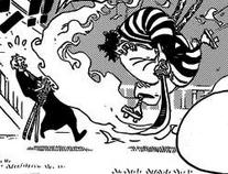 Kin'emon vs Zoro