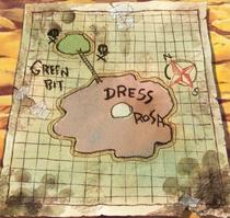 Peta Dressrosa dan Green Bit