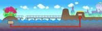 Туннель, связывающий Грин Бит с Цветочным полем