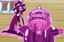 Chopper and Brook are Candyfied