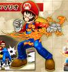Luffy Mario Amiibo Super Grand Battle X