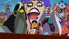 Luffy and Impel Down Allies at Marineford