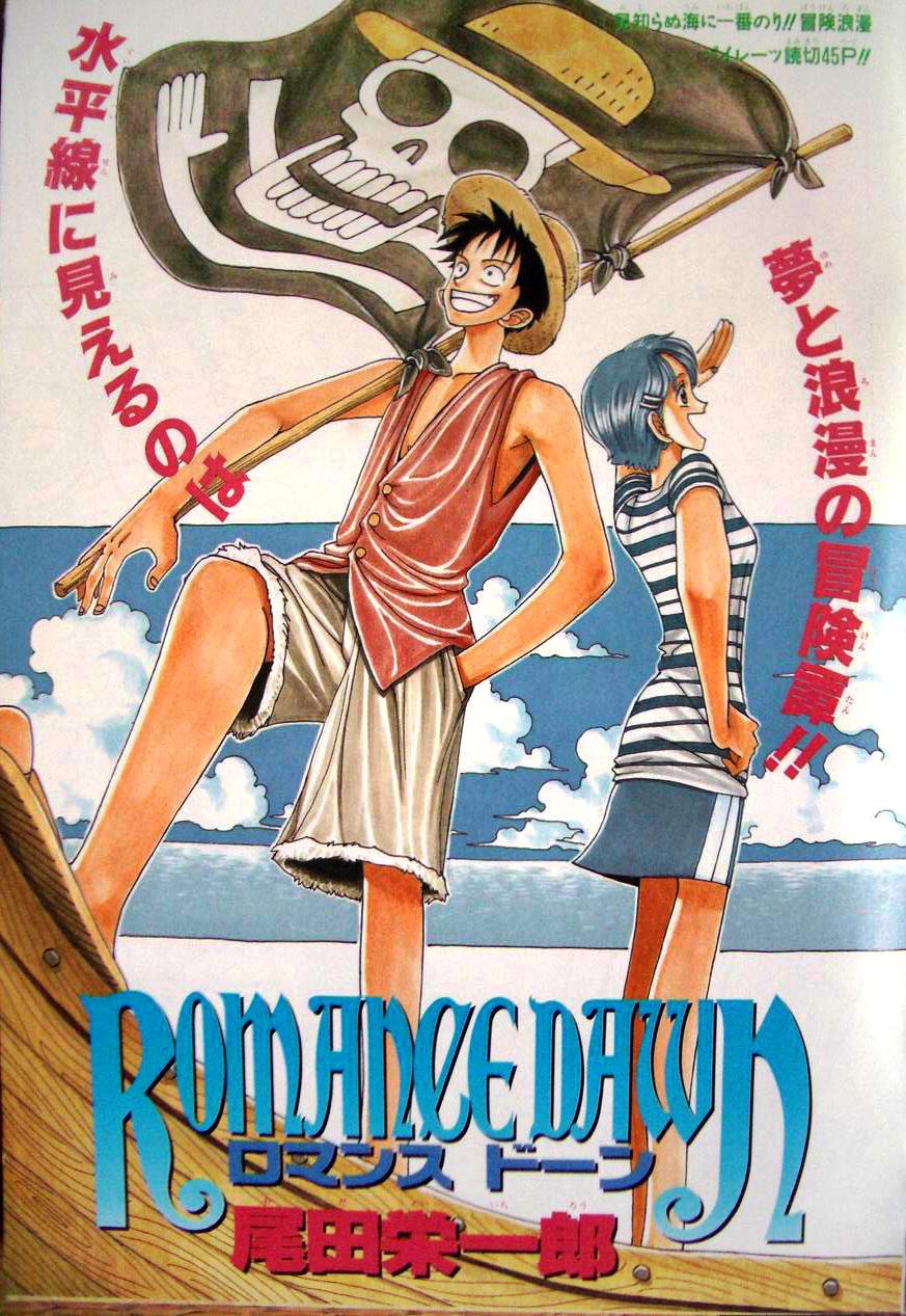 Resultado de imagem para Eiichiro Oda Romance Dawn