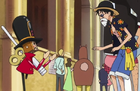 Thunder Soldier and Luffy Height Comparison 1