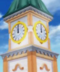 Torre del Reloj en Alubarna