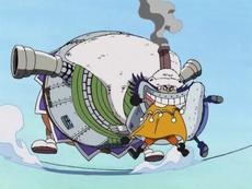Wapol Eats Chess and Kuromarimo