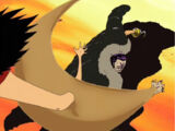 Monkey D. Luffy gegen Sir Crocodile