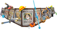 Wanted Mugiwara Pirates Collection Aligned