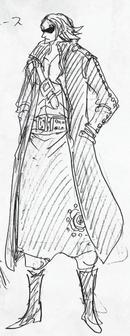 Boceto de Masked Deuce