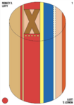 Luffy Cylindrical Candy