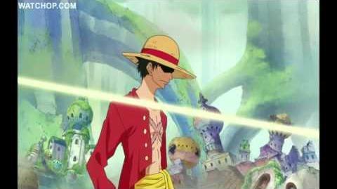 Luffy Zoro Sanji vs Pacifista