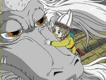 Апис разговаривает с драконом