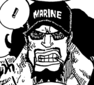 Maynard's Marine Cap in the Manga
