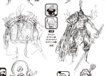 Charlotte Cracker Manga Concept Art