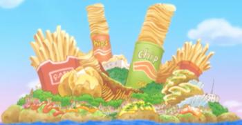 Potato Island