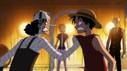 Usopp Angry With Luffy