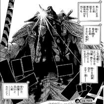 Death Whitebeard in manga