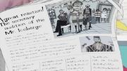Iceburg en el periódico