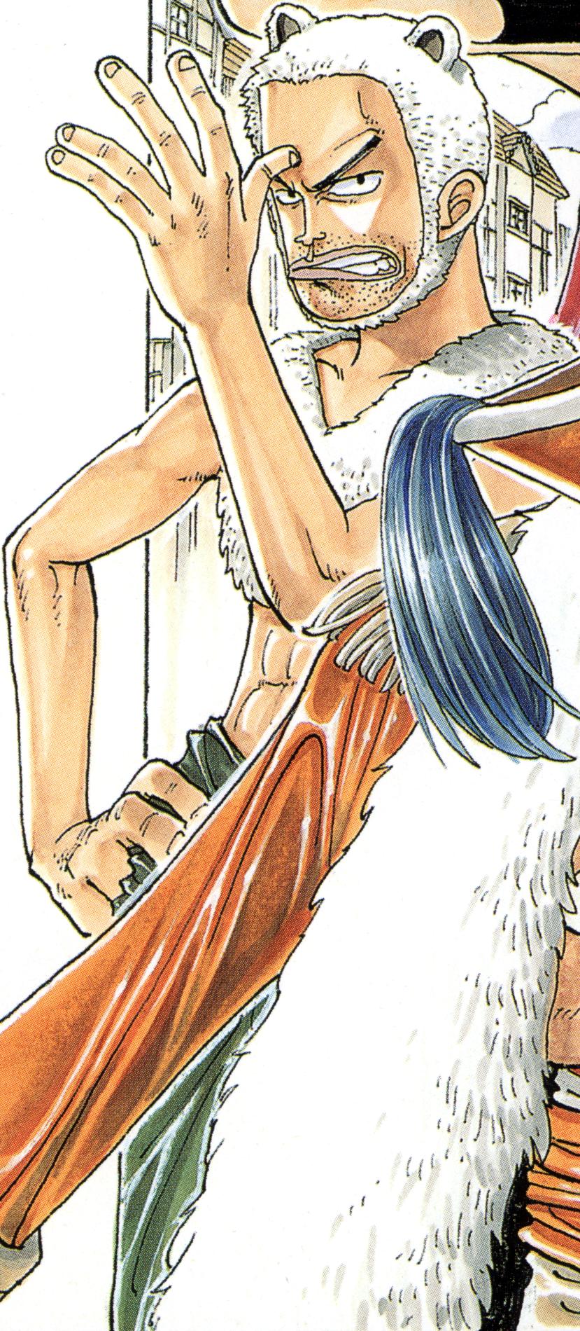 Mohji Manga Color Scheme