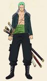 Vestimenta de Zoro en el Episodio de Luffy