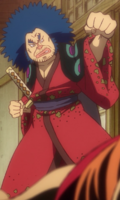 Yasuie as a Daimyo